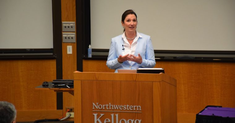Dr. Young Presents at Northwestern Domain Dinner