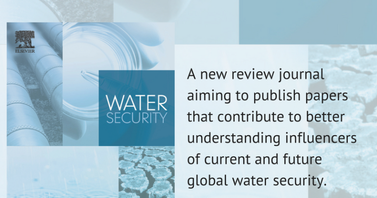 "Making a Splash in the New ""Water Security"" Journal"