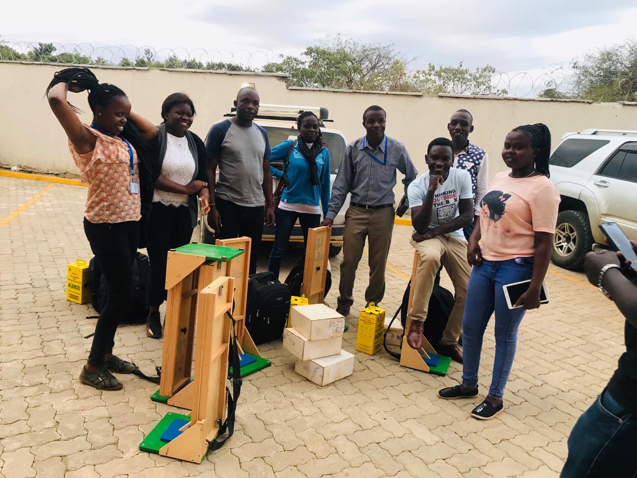 Patrick Begins Thwake Multi-Purpose Dam Fieldwork in Makueni County, Kenya